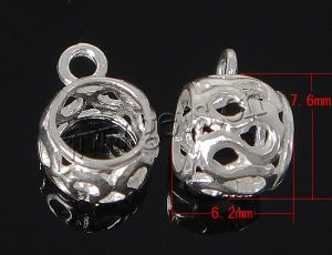 925 Sterling Silver Bail Beads, Pendant Bail, Charm Bail (120307204659)