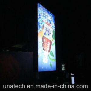 Banner Outdoor Street Lamp Pillar Media Ads Image Backlit film PVC LED Light Box pictures & photos