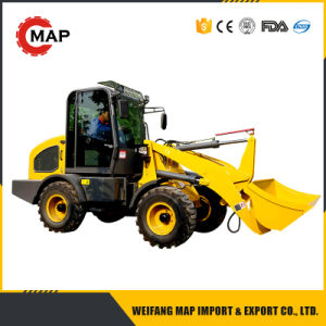 1.5t Hydraulic Mini Front Wheel Loader Euro 3 with CE pictures & photos