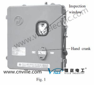 Motor Drive Unit Type Cma9 of on-Load Tap Changer pictures & photos