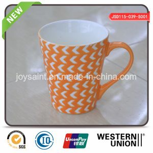 Orange Color Decal Silk-Printed Mug (JSD115-039-S001) pictures & photos