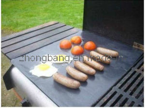 Non-Stick BBQ Hotplate Liner (Heavy Duty, Reusable) pictures & photos