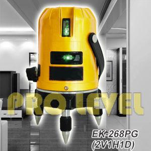 Self-Leveling 2V1h1d Green Laser Level (SK-268PG) pictures & photos