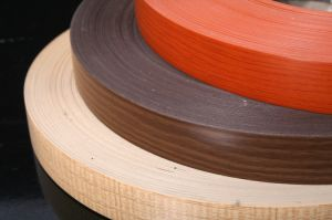 Wood Color PVC Edge Banding/Wooden Color Edge PVC Banding pictures & photos