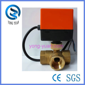 3-Way Motorized Ball Valve (BS-868S-20) pictures & photos