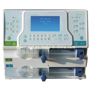 Dual-Channel Syringe Pump with CE (S9100) pictures & photos