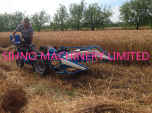 Hand Control Reaper & Binder Combine Harvester Mini Binder Reaper pictures & photos
