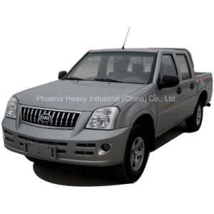 Low Price 4X4 Pickup Truck with Euro4 Diesel Engine pictures & photos