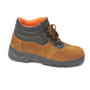 Work Safety Shoes (Genuine leather) pictures & photos