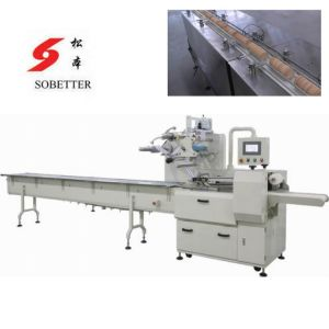 Auto Biscuits Packing Machine with Pallet pictures & photos