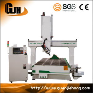 180 Degree Rotary Spindle Atc, 1325 Woodworking CNC Router pictures & photos