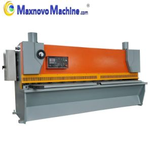 Hydraulic Guillotine Cutting Plate Shear Machine (MM-HKT4006) pictures & photos