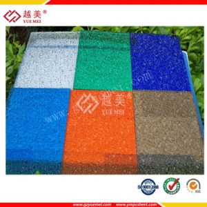 Grade a 50 Micron UV-Coated Polycarbonate Embossed Diamond Sheet (YM-PC-023) pictures & photos