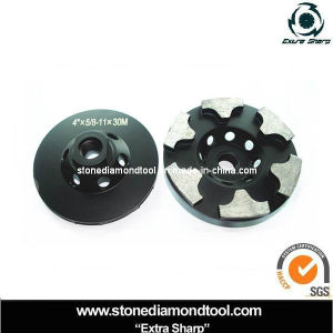 New Double Turbo Diamond Grinding Cup Wheels for Granite pictures & photos
