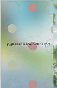 4mm to 6mm Frosted Glass, Decorative Glass, Concave Glass for Door pictures & photos
