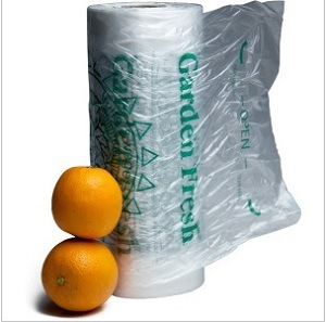 Customed Disposable Safe Plastic Bags for Food---Printing or Transparent