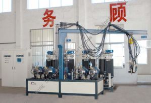 4 Components High Pressure Foaming Machine pictures & photos