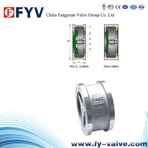 API6d Wafer Type Piston-Lift Check Valve pictures & photos