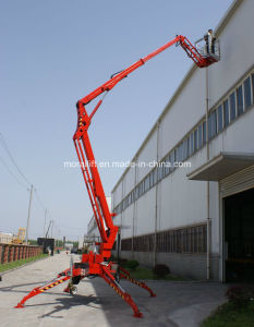 Mobile Electric Towable Pull-behind Boom Lift pictures & photos