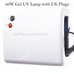 Wholesale 36W Nail Gel Curing UV Lamp 220V Dryer Machine pictures & photos