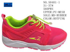 No. 50401 Kids Sport Stock Shoes Two Colors pictures & photos