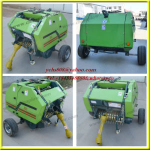 Tractor Mini Round Straw Baler for Sale pictures & photos
