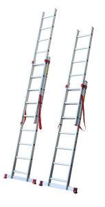 Aluminium En131 Tool Stool Scaffold Work Platform Multipurpose Household Steel Step Extension Section Telescopic Folding Extendable Ladder 218