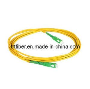 SC/APC-SC/APC Simplex Singlemode Fiber Optic Jumper pictures & photos