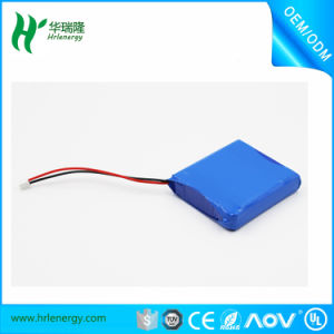 7.4V Lithium-Ion Battery 605050 1800mAh Rechargeable Battery pictures & photos