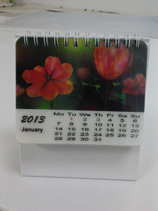 Wholesale Printing 3D Lenticular Table Calendar pictures & photos