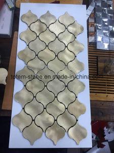 Discount Golden/White Glass/Marble /Mosaic Subway Tiles for Bathroom Kitchen Backsplash Ideas pictures & photos