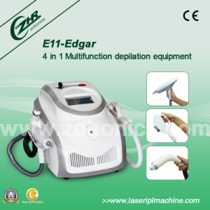E11b Edgar Multifunction 4 in 1 Elight Hair Removal Machine pictures & photos