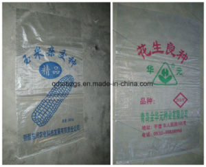 New Material Transparent Plastic PP Woven Bag for Seed pictures & photos