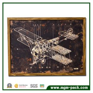 Fighter Plane Wooden Frame Wall Painting pictures & photos