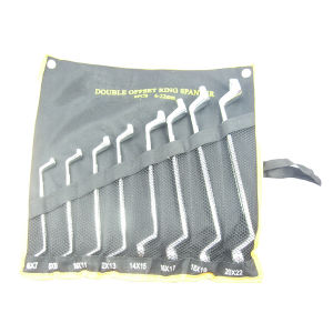 8PC 75 Degree Double Offset Ring Spanner Set (WTTY008) pictures & photos