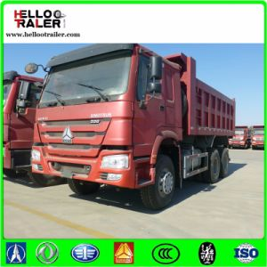 Left Hand Driving 336HP Tipper Dump Truck for Sale pictures & photos