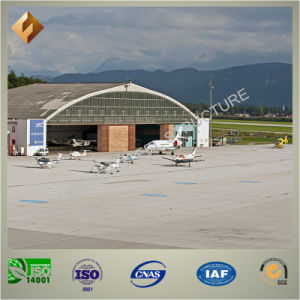 Arc-Roof Prefab Steel Structure Aircraft Hanger