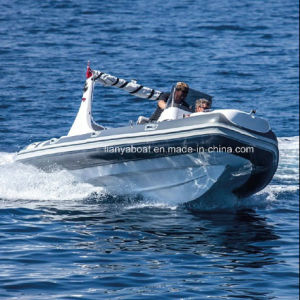 Liya 19ft China Inflatable Boat Hypalon Rib Boat with Motor pictures & photos