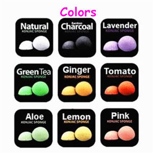 Wholesale 100% Natural Konjac Sponge for Facial Cleaning Skin Care Small Quantity Order & Customized label Enable pictures & photos