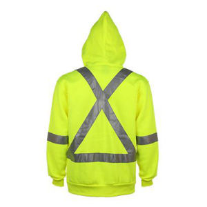 Winter Strip Yellow Reflective Safety Jacket Uniform pictures & photos