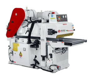 Working Width 610mm Spiral Knife Frequency Driver Double/Two Sides Planer Woodworking Machine (HJD-MB2061BL)