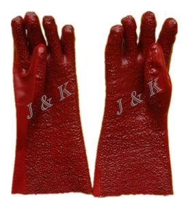 PVC Gloves Safety Gloves Work Gloves pictures & photos