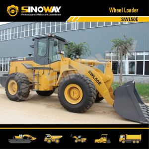 Wheel Loader (Cummins Engine, 5ton Loading Capacity) (SWL50E) pictures & photos