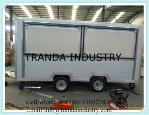Worldwide Cart Kiosk and Transport Trolley Automatic Street Vending Carts pictures & photos