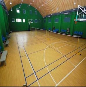 Indoor PVC Sports Flooring Uesd for Basketball Courts pictures & photos