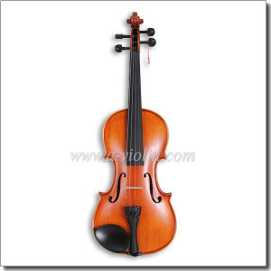 Middle Grade Flamed Maple Wholesale Violin with Case (VM110H) pictures & photos
