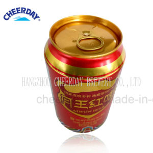 OEM Abv3.7% 330ml Caned Original Red Beer pictures & photos