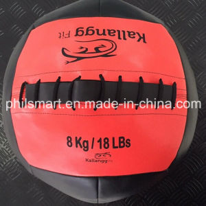 Original Fitness Leather Medecine Wall Ball pictures & photos