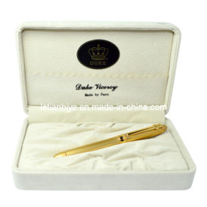 Duke Pen Set, High Quality Gift Box with Metal Roller Pen (LT-Y132) pictures & photos