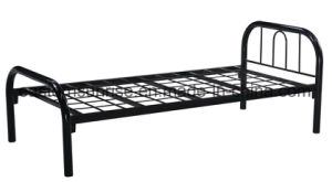Hot Sale Economical Metal School Military Worker Steel Single Bed pictures & photos
